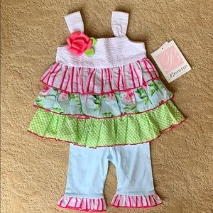 Bonnie Baby 6-9 month - 2 Piece Outfit